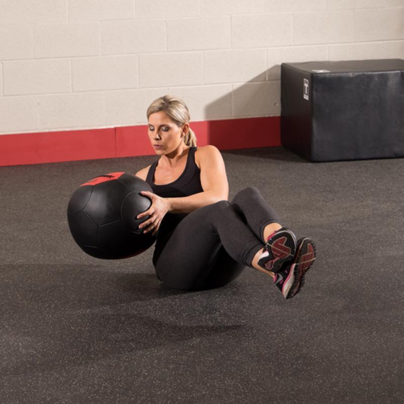 Фотография Тренировочный мяч мягкий WALL BALL 2,7 кг (6lb) 2