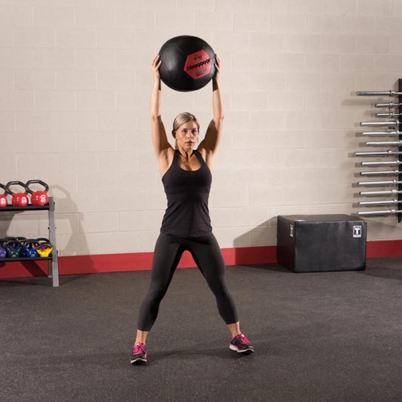 Фотография Тренировочный мяч мягкий WALL BALL 2,7 кг (6lb) 1