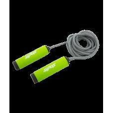 Миниатюра Скакалка RP-105 со вспененной ручкой, зеленая/черная 0  мини